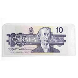1989 Bank of Canada Ten Dollar Note UNC