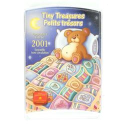 2001 Tiny Treasures UNC Coin Set