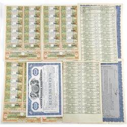 Estate Lot - Paper, Share Certs, Russia Colonial e