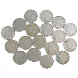 Lot (18) US (V) Nickels
