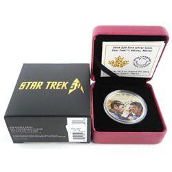 .9999 Fine Silver Star Trek Coin - Mirror Mirror.