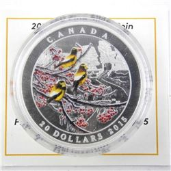 .999 Fine Silver $20.00 Coin 'Winter Freeze' with