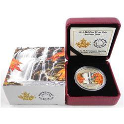 .9999 Fine Silver 20.00 Coin - Autumn Falls. Limit