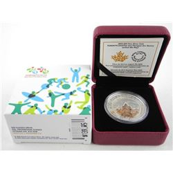 .9999 Fine Silver 20.00 Coin - Pan Am Games. Limit