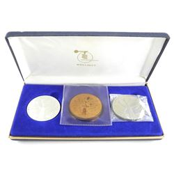 Wellings Mint - Rexdale Ontario 3 Coin/Medal set -