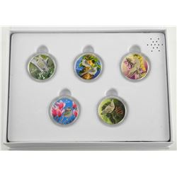 RCM 5 Coin Set .9999 Fine Silver $10.00 'Birds