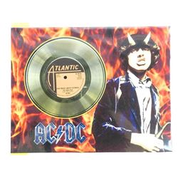 "AC/DC Gold Record 11x14"" Unframed"
