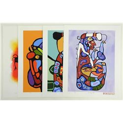 Norval Morrisseau (1931-2007) A Shaman's Vision F3