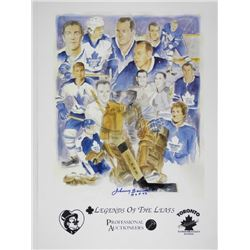 Legends of the Leafs Litho Collage - Stars, Legend