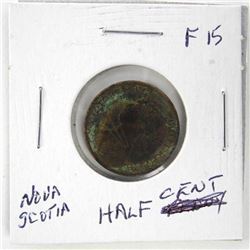 Nova Scotia - Half Cent F15