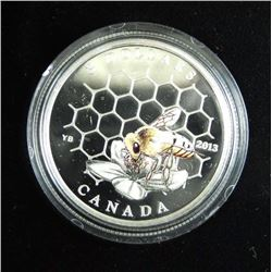 .9999 Fine Silver 3.00 Coin - Bee and Hive.
