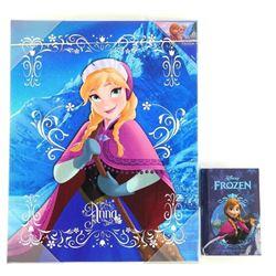 Disney .9999 Fine Silver Coin 'Anna' Plus Canvas W