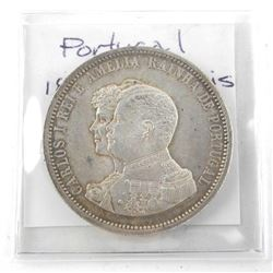 Portugal 1898 1000 REIS KM#539 (AU)