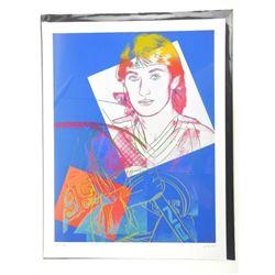 "Andy Warhol Image 'Wayne Gretzky' 18x23"""