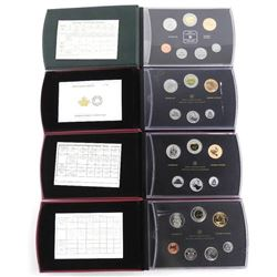 Grouping of (4) RCM Specimen Coin Sets: 2004, 2008