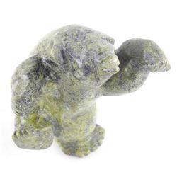 "Original Stone Sculpture ""Paul Taqqiasuk"" 7x5x2"