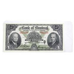 Bank of Montreal 1944 5.00 AU55.