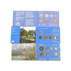 Lot (3) Dutch Mint Coin Sets
