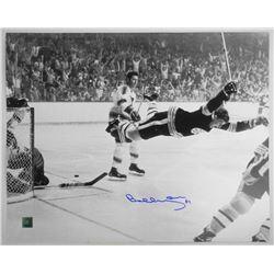 """Bobby Orr 16x20"""" 'The Goal' 1970 with C.O.A. Sign"""