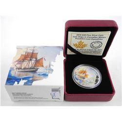 .9999 Fine Silver 20.00 Coin - Franklin' Lost Expe