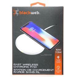 Blackweb Fast Wireless NEW Charging Pad