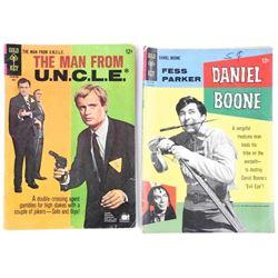 Lot (2) Vintage Comics Daniel Bonne The Man From U