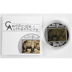 925 Sterling Silver 5 Dollars 'Old Master Prints'