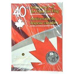 40th Anniversary CAD Flag Silver Dollar