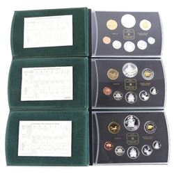 Group (3) RCM Silver Proof Coin Sets: 2002-2003-20
