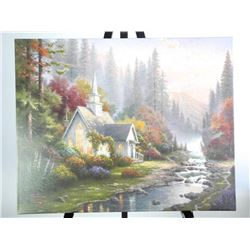 Thomas Kinkade (1958-2012) Gallery Wrap Canvas 24x
