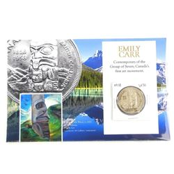1958 Canada Silver Dollar 'Emily Carr' Image with