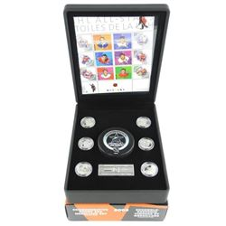 Commemorative Stamp and Medallion Set - NHL All St