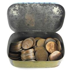 Estate Vintage Tin Coins