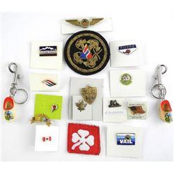 Lot Misc. Pins/Badges etc