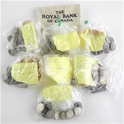 Estate Bag Lot - George V 5 Cents
