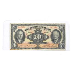 Dominion of Canada 1935 Chartered 10.00