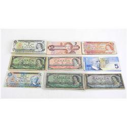 Estate Lot - Circulated Bank of Canada notes