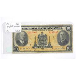Royal Bank of Canada 1935 (VG)