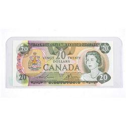 Bank of Canada 1979 Twenty Dollar Note Lawson