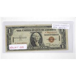 1935A USA Silver Certificate Red Seal. Hawaii.