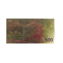 24kt Gold Leaf 500 EURO note