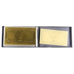 24kt Gold Leaf Collection Italy - Lire