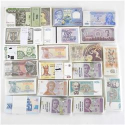 Grouping of (20) 'BRICKS' World Notes Approx (2000)