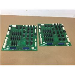 (2) Mitsubishi C2N624A009A Circuit Boards