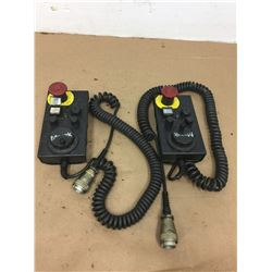 (2) Mazak HS Manual Pulse Generator
