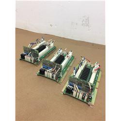 (3) Mitsubishi D65UB004301 Circuit Boards w/ HR371 Circuit Board Module