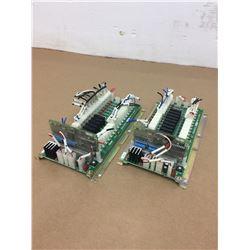 (2) Mitsubishi D65UB004301 w/ D65UB004371 Circuit Board