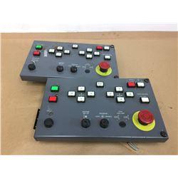 (2) IDEC IZUMI Corp. Control Panels ZY1C-SS3153-3