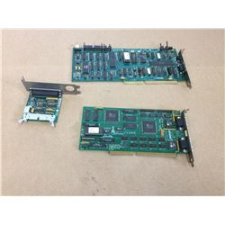 (3) Autocon and Colorgraphic Communications Circuit Boards 415-0606-902, 415-0605 & PC-602105-R5