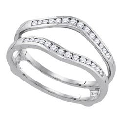 0.25 CTW Diamond Ring 14KT Yellow Gold - REF-33H7M